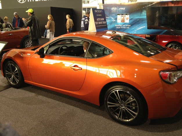 Scion FR-S Rear