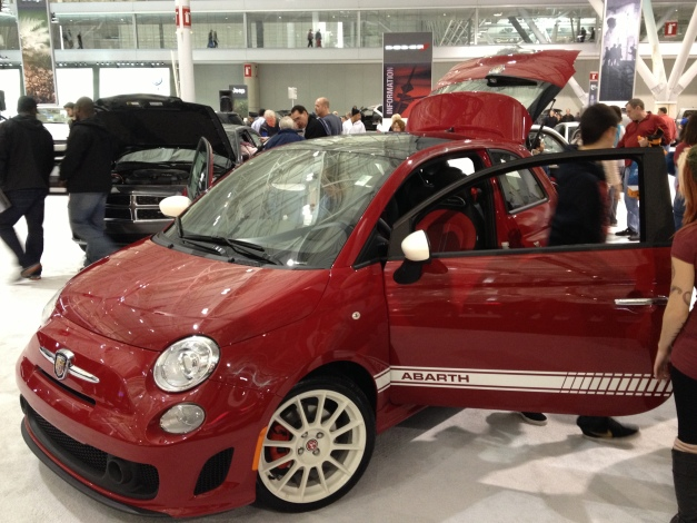 Fiat 500 Abarth Front