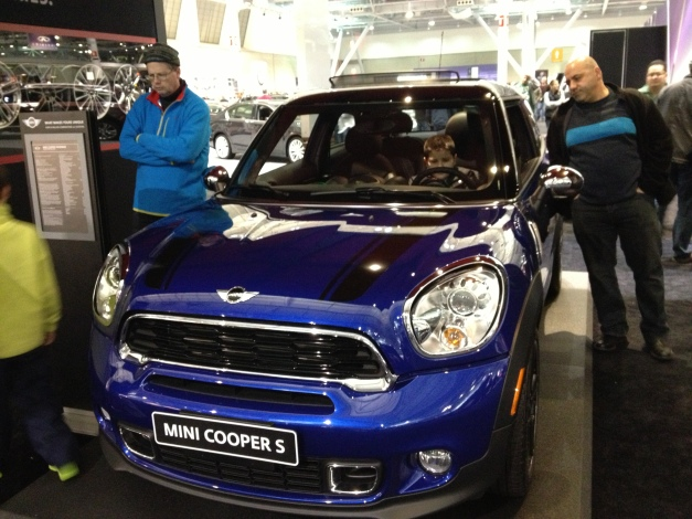 Mini Cooper S Paceman Front