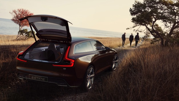 Volvo Concept Estate Open Hatch