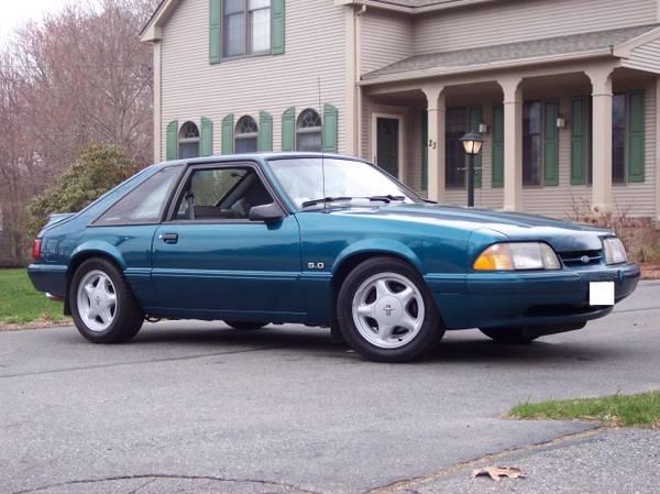 Fox Mustang Front