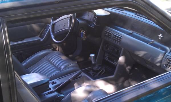 Fox Mustang Interior